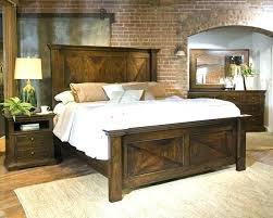 Rustic King Size Bedroom Sets Rustic King Size Bed Frame Popular ...