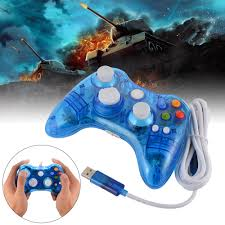 wired game controller for microsoft xbox 360 console pc windows 7 8 10 ac1516