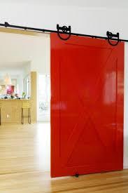 red and white barn doors. Cheerful Cherry Sliding Bedroom Barn Door Red And White Doors