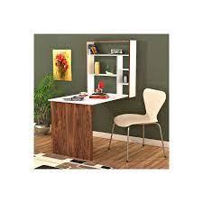 Оригинално бюро с рафт, което е много практично поради своя многофункционален сгъваем дизайн, тъй като се адаптира към нуждите, оптимизирайки използването на пространството. Sgvaemo Byuro Za Stena Dk Style L Magic Byal Oreh Emag Bg