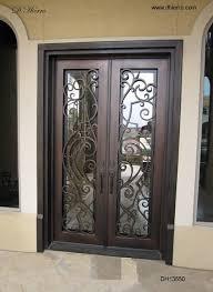 metal front doorsPUERTA  PUERTAS  Pinterest  Iron front door Front doors and Iron