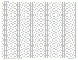 5mm Graph Paper Isometric Grid Paper 5mm Lightgray Full Page Land Ledger