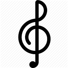 Clef G Clef Melody Music Notation Treble Treble Clef Icon