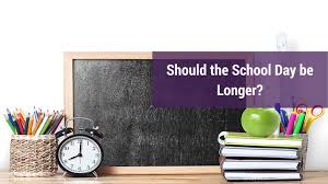 increasing the school day pros and cons of increasing the school day should the school day be longer