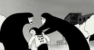 retracing in marjane satrapi s persepolis by sarah macgregor  chute explores the ways in which satrapi uses the form of the graphic novel to convey the traumatic experience of the ian revolution