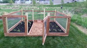 garden fence building a garde raised