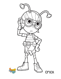 Crick From Beat Bugs Printable To