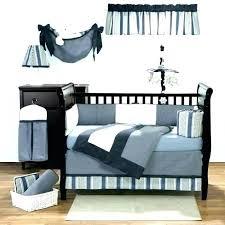 baby boy crib bedding sets nursery navy and orange woodland