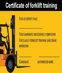 15 Forklift Certification Card Template For Training
