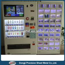 Coin Op Vending Machines New Outdoor Touch Screen Coin Operated Drink And Snack Food Vending