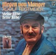Jürgen von Manger - Meine Rübe deine Rübe Langspielplatte, Philips 6305106, - juergen_von_manager_-_meine_ruebe_deine_ruebe_-_philips_6305106_front