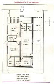 40 x 60 north facing house plans