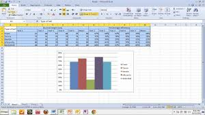 Excel Word Copying Tables And Graphs From Excel To Word Youtube