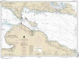 14880 Straits Of Mackinac Nautical Chart