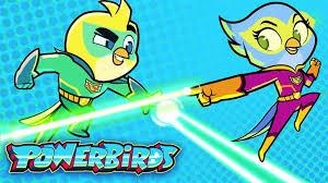 Powerbirds: Videos: Ace & Polly's Super Powers!   Universal Kids