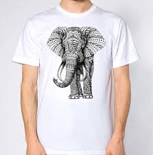 Elephant Shirt Design Elephant T Shirt Abstract Animal Lover Colourful Graphic Design Suit Hat Pink T Shirt T Shirt Making T Shirts For Sale From Wellcup 16 24