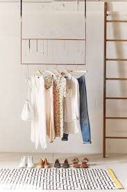 Ceiling Metal Clothes Racks