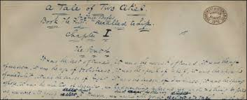 david perdue s charles dickens page a tale of two cities a tale of two cities manuscript
