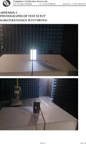 Interior Lighting Compliance Certificate Tp00064b Tablet Computer Test Setup Photos Ble Compal
