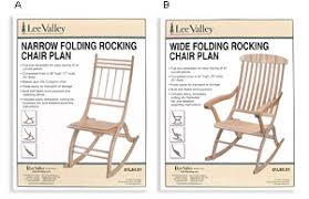 Folding Rocking Chair Plans Lee Valley Tools