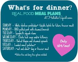 Real Food Healthy Meal Planner By Holistic Squid Clean Eating Meal