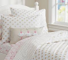 gold polka dot quilt pottery barn kids with regard to contemporary household childrens polka dot bedding prepare