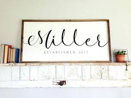 last name personalized wall decor initial sign wood on personalised family name wall art with name wall art yasaman ramezani