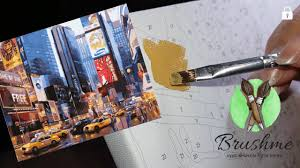 Рисую <b>картину по номерам</b> - YouTube