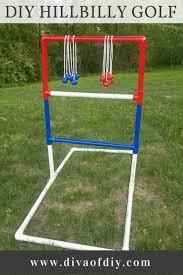 how to make hillbilly golf a fun yard game