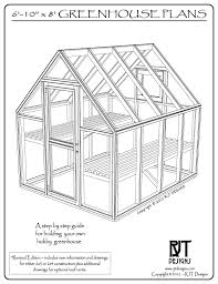 plans for the 6 10 x 8 0 greenhouse are now available