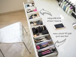 photo 8 of 10 make up storage ideas ikea malm dressing table dressing table drawer organiser 8