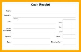 Receipt Word Template Intersectionpublishing