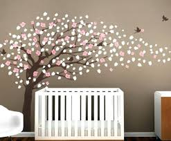 cherry blossom tree wall decal stickers for nursery uk decals