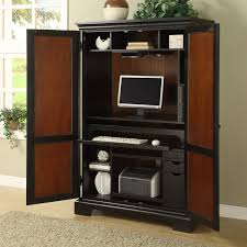 Hidden Printer Cabinet Desk Armoires Youll Love Wayfair