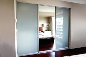 modern sliding closet doors for concept mirrored bedrooms canada