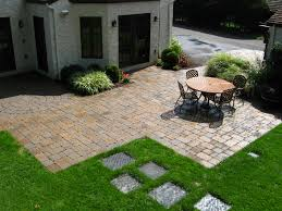 Backyard Patio Paver Designs Outdoor Furniture Diy Patio Paver
