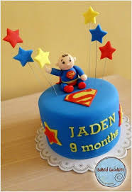 9 Superhero Birthday Cakes For Little Boys Photo Super Heroes