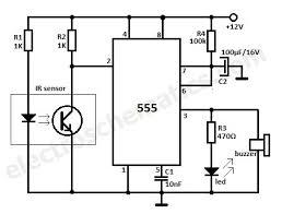 motion detector alarm circuit motion detector alarm circuit