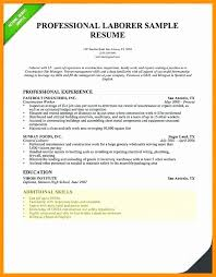 Shoe Repair Sample Resume Fascinating Resume Objective Samples For General Labor Unique Examples For