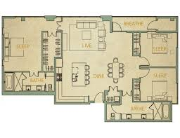 3 bedroom condos. austin 3 bedroom condo 3c | 1740 sq. ft. condos