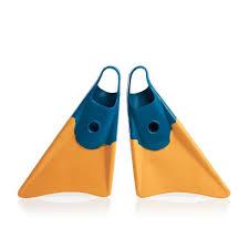 Churchill Makapuu Swimfins Blue Yellow