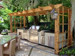 Stainless Steel Outdoor Kitchen Stainless Steel Outdoor Cabinet Wooden Gazebo Cover Outdoor