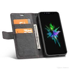 whatif detachable wallet case credit card holder cash slot kraft paper cover for iphone 6 6s 7 8 plus x with diy feature cell phone wallet case leather