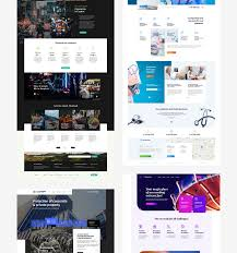 Betheme Web Design Betheme 1 On Behance Lp Web Design Desktop Screenshot