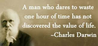 Motivational Quote On Value By Charles Darwin Dont Give Up World Fascinating Darwin Quotes