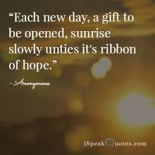 New Day Quotes Interesting Sunrise Quotes To Brighten Your Day I Speak Quotes
