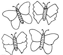 Farfalle Disegni Da Colorare E Stampare Gratis Immagini Per