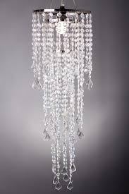 chandelier diamante duo delight crystal iridescent 33 5 long x 10 25 diameter