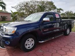 Toyota Tacoma Prerunner 4 Cylinder In Florida For Sale ▷ Used ...