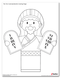 Small Picture 10 Commandments Coloring Pages For Preschoolers Coloring Pages Ideas